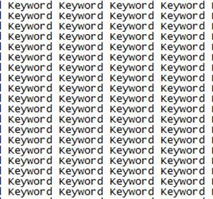 Keyword Stuffing & Hidden Text Manual Action: Google on How to Fix it